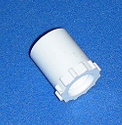 438-072 1/2 Spigot x 1/4 FPT COO:USA - PVC-Fittings-Reducer-Bushings