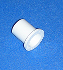 438-128 1 Spigot x 1/4 FPT COO:USA - PVC-Fittings-Reducer-Bushings