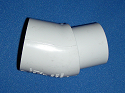 442-005 1/2 inch ST elbow 22° COO:USA - PVC-Fittings-Elbows-22-degree-St