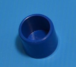 "447-005BLU BLUE 1/2"" cap. COO:UNKNOWN - PVC-Fittings-Colors"