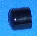 447-010B BLACK 1 Cap COO:USA - PVC-BLACK-Fittings-Caps