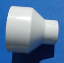 429-420 4 x 2 reducing couple, COO: USA - PVC-Fittings-Couples