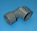 508-007 FGH by .75 FPT (female NPT) 90° GRAY - GardenHose-Female