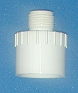 536-012 MGHose by 1-1/4 PVC Socket - GardenHose-Male