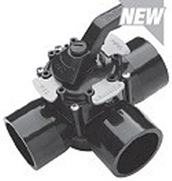 600-0401 2.5 TruSeal Diverter Valve - PVC-Valves-3way-Diverter