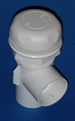 0230-10 1 inch 90° Valve - PVC-Valves-90degree