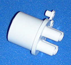 672-4030 4 3/8 barb x 1 spigot - Barb-Distributors