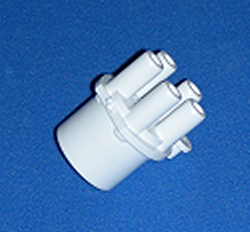 672-4100 5 3/8 barb x 1 spigot - Barb-Distributors