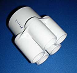 672-4400 2 by 5(3/4 inch ports) - PVC-Distributors