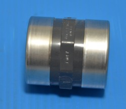 "830-010SR 1"" couple FPT x FPT Sch 80 Stainless Reinforced COO:USA - PVC-Fittings-Sch80"