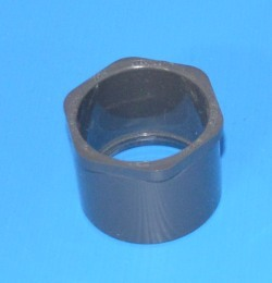 837-212 1-1/2 x 1-1/4 PVC reducer bushing Sch 80 (GRAY) COO:USA - PVC-Fittings-Sch80