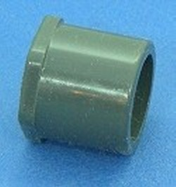 838-130 1 Spigot x .5 FPT Sch 80 (GRAY) - PVC-Fittings-Reducer-Bushings-FPT