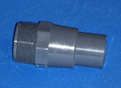 "1.5 MPT x 1.25"" spigot - PVC-Nipples-Reducing-TOE"