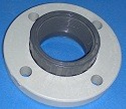 "855-040 4"" FPT (female NPT) Van Stone (floating) Flange - PVC-"