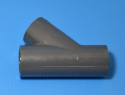 "875-007 PVC-3/4"" 45 degree (Spears) Sch 80 (GRAY) COO:USA - PVC-"