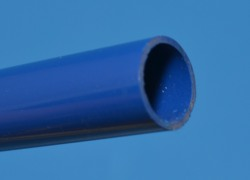 "BLUE Thinwall (.075"") 1/2"" PVC Pipe Glossy  - PVC-PIPE-Colors-Thinwall"