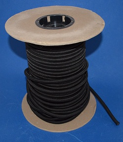 Bungee Cord 3/8 inch, sold by the foot. BLACK - BungeeCord