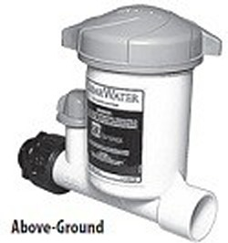 CAG004-W Above Ground Pool (and other) uses Chlorinator - Chlorinators