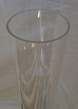 CLEAR Acrylic Tubing 3.00 ID x 3.250 OD by the foot. - Clear-Acrylic-Tube-Pipe-Size