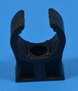 "Cobra Clip for 3/4"" pvc pipe (one hand snap in) COO:UK - Pipe-Mounting-Clamps"