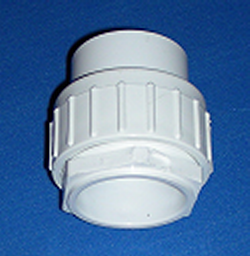 "1.5"" COMPACT SHORT union HP - PVC-Fittings-Unions-Unrated"
