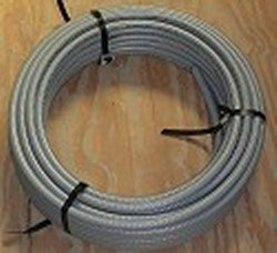 ON SALE 1.25 Gray UL Approved Electrical Conduit 50 foot roll -