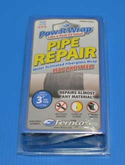 FPW3132CS Fernco Power Wrap - Water Activated Fiberglass Wrap - Fernco-Power-Wrap-Leak-Repair
