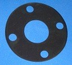 "FG-005neo Flange Gasket for 1/2"" flange, neoprene - PVC-Flanges-Parts"