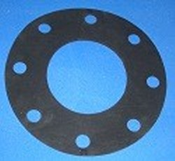 "FG-100neo Flange Gasket for 10"" flange, neoprene - PVC-Flanges-Parts"