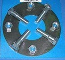 BK50FF Flange Kit for 5in flanges (neoprene) - PVC-Flanges-Parts