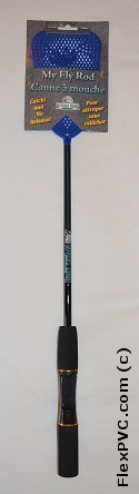 Ultimate Fishing Rod Fly Swatter - Blue - FREE for orders over $250 - Freebies 250