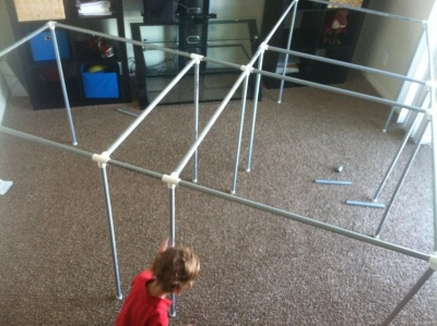 Instructables Fort Kit For Kids (Furniture Grade) - PVC-Kits