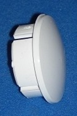"INSIDE Pipe 1/2"" cap plug Fits Sch 40 Pipe Only - PVC-Fittings-Plugs-InsidePipe"