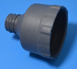"Intex Gray vacuum adapter for 1"" hose.* - Intex-Swimming-Pool-Adapters"