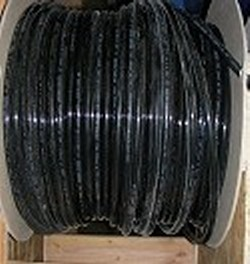 JG Brand 3/8 inch Polyethylene tubing BY THE FOOT BLACK UV rated - JG-Polyethylene-Tubing-BTF