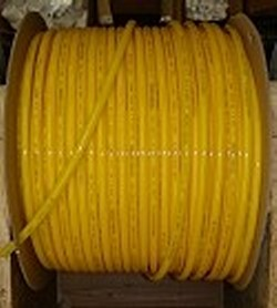 JG Brand 3/8 inch Polyethylene tubing BY THE FOOT YELLOW - JG-Polyethylene-Tubing-BTF