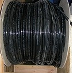 JG Brand 1/2 inch Polyethylene tubing BY THE FOOT BLACK UV rated - JG-Polyethylene-Tubing-BTF