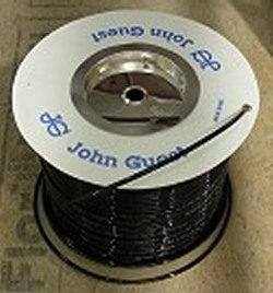 "JG Brand 1/4"" Polyethylene tubing BLACK UV rated 500 ft roll COO:UK - JG-Polyethylene-Tubing"