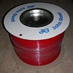 "JG Brand 3/8"" Polyethylene tubing RED 500 ft roll COO:UK - JG-Polyethylene-Tubing"