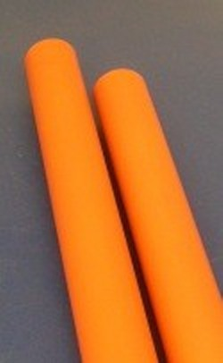 "STICKS of CP-020 Orange CPVC SDR13.5 Pipe 2"" x 5' long - PVC-PIPE-SDR13.5-Orange"
