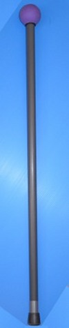 """Exercise Ball Cane made from 1"""" solid rod pvc - PVC-Canes"""
