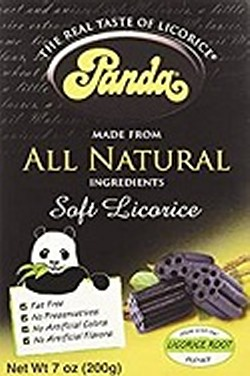 Panda Black Licorice Candy Box - Freebies 100