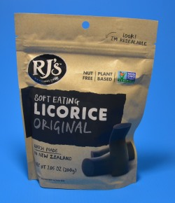 RJ Black Licorice NON-GMO, Vegan, Awesome taste! - Buy Goodies