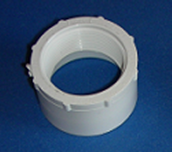 438-251-L 2Spigot x 1-1/2 FPT COO: CHINA - PVC-Fittings-Reducer-Bushings-FPT