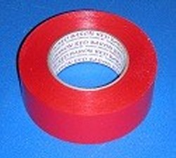 "7mil x 2"" x 180ft RED pipe tape - PVC-Pipe-Wrapping-Tape"