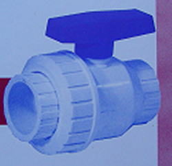 S4-010 1 inch Single Union BV - PVC-Valves-Ball-Valves-SingleUnion