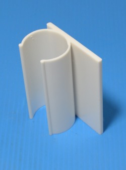 "Snap Flag 3"" long, fits 1"" Sch 40/80 PVC Pipe. COO:TWN - PVC-Fittings-Snap-Clamps"