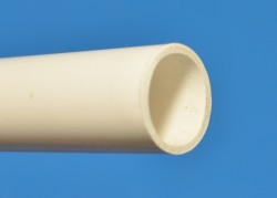 "WHITE Thinwall (.075"") 1/2"" PVC Pipe Glossy  - PVC-PIPE-Colors-Thinwall"