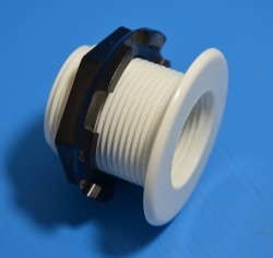 "Low Profile Bulkhead 1"" medium (no gasket, see details) - Bulkhead-Fittings-LowProfile"