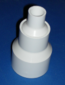 "477020130 3/4"" by 2"" reducing couple - PVC-Fittings-Couples-Reducing"